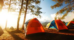 Camping Trip sunrise
